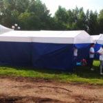 Изготовление торговых палаток 3х3х2,5 метра, полиэстер
