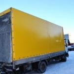 Изготовление тента на грузовик DAF LF в Волгограде
