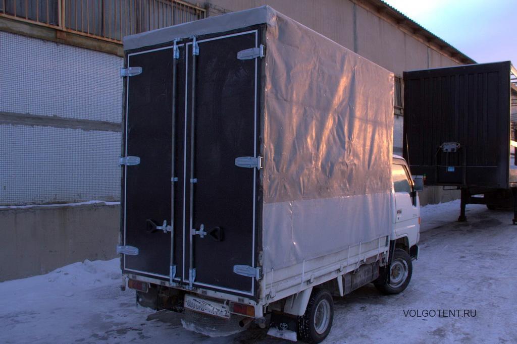 Высокий тент с воротами на грузовой автомобиль Toyota Dyna в Волгограде