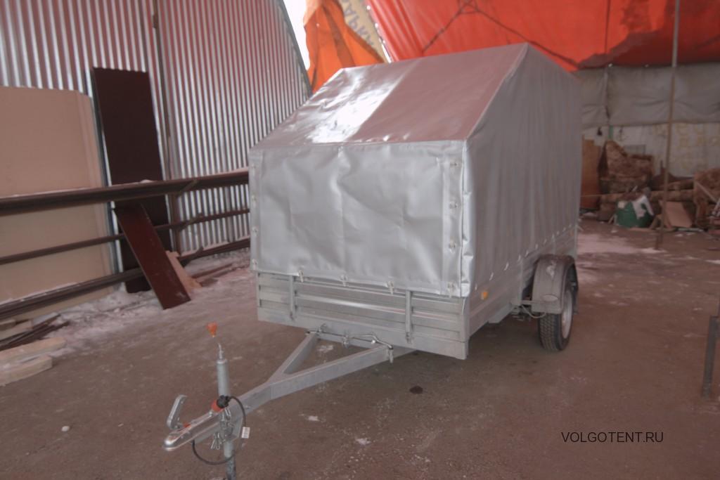 Изготовление каркаса и тента для легкового прицепа МЗСА в Волгограде