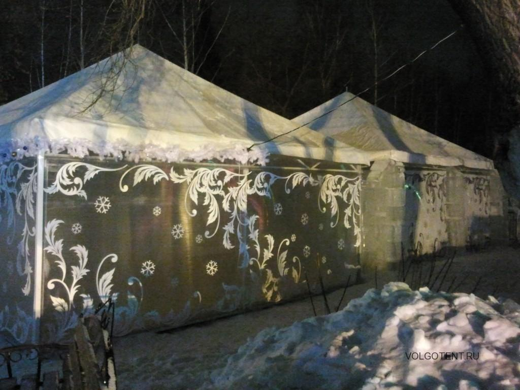 Зимние шатры для отдыха