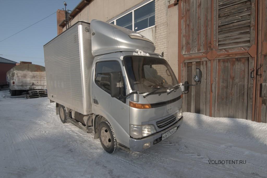 Изготовление и установка распашных ворот на грузовик Hino Dutro