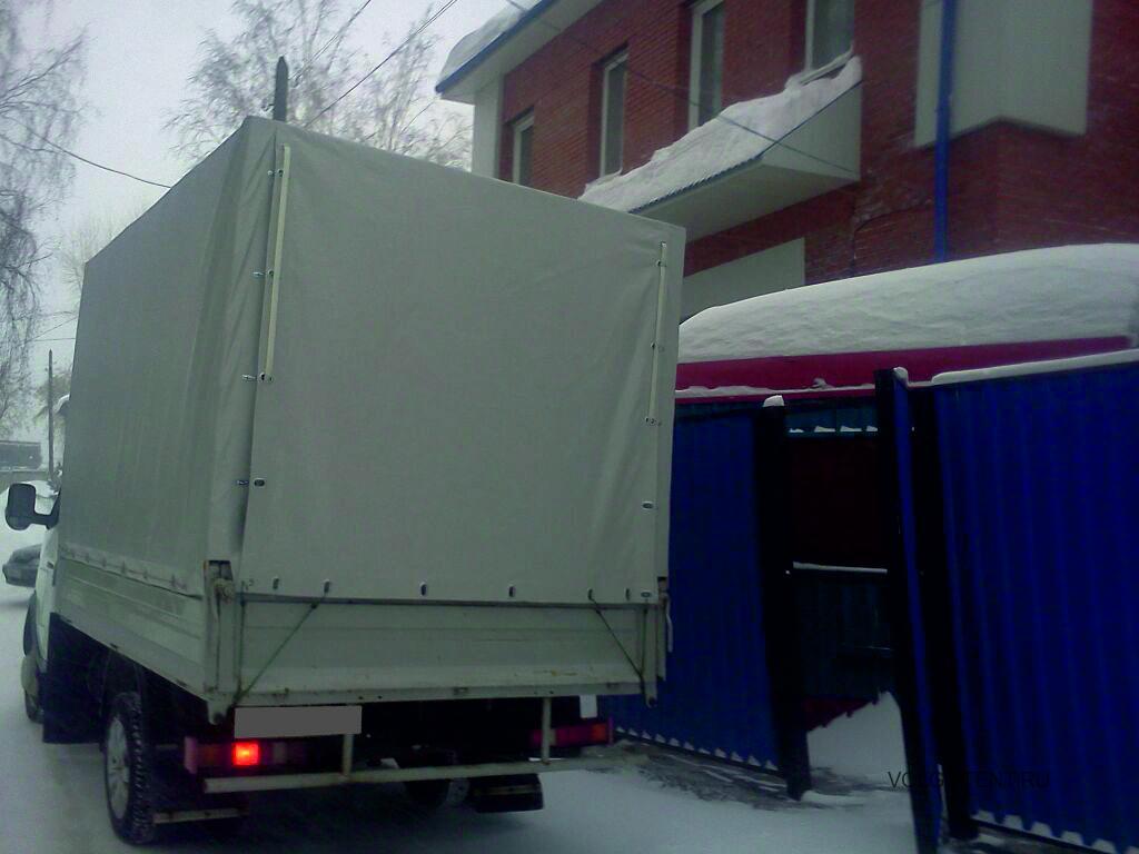 Прямоугольный тент на грузовик Газель в Волгограде