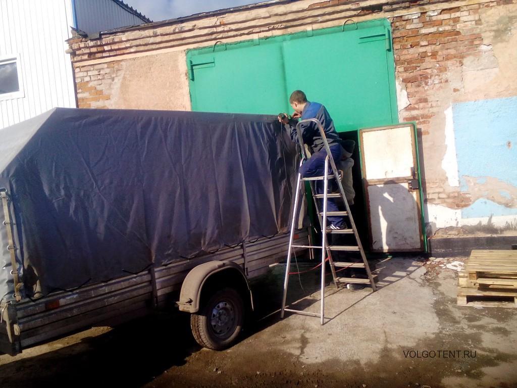 Ремонт тента легкового автомобиля на выезде в Волгограде
