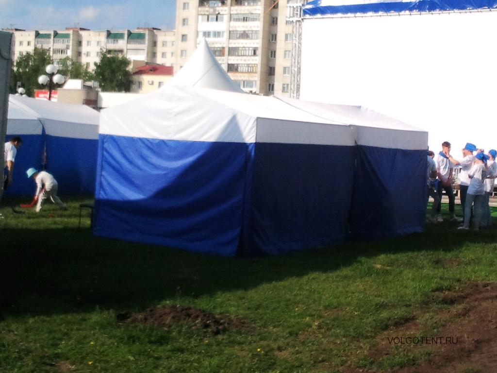 Пошив торговых палаток 3х3х2,5 метра
