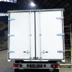 Задние распашные ворота на грузовик Fiat