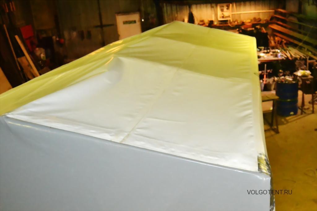 Светопрозрачная крыша легкового прицепа