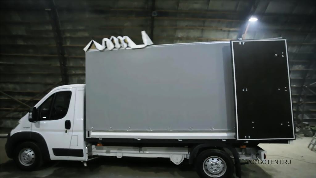 Сдвижная крыша на грузовик Fiat