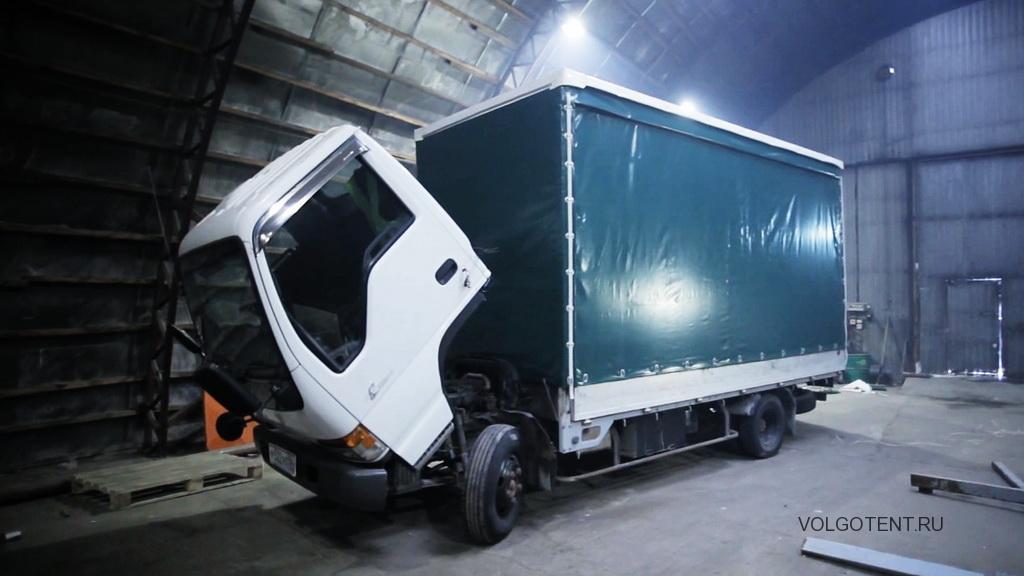 Сдвижной тент на грузовик Isuzu