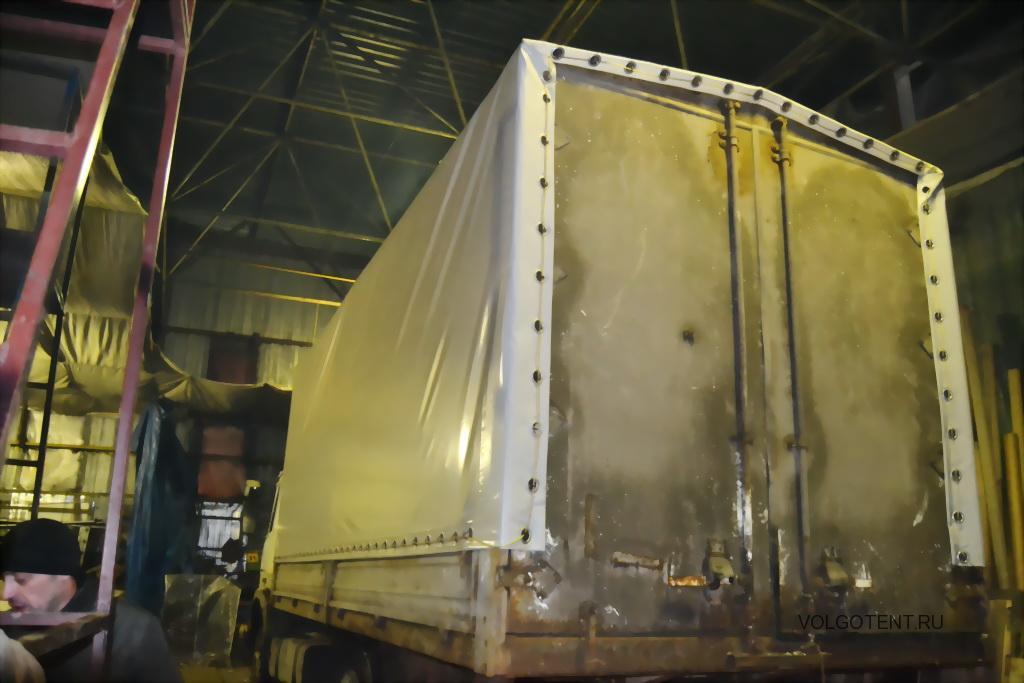 Автотент на МАЗ, изготовление автотента на грузовик МАЗ в Волгограде