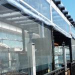 Мягкие окна-ПВХ для террасы