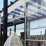 Защитные шторы для летнего кафе