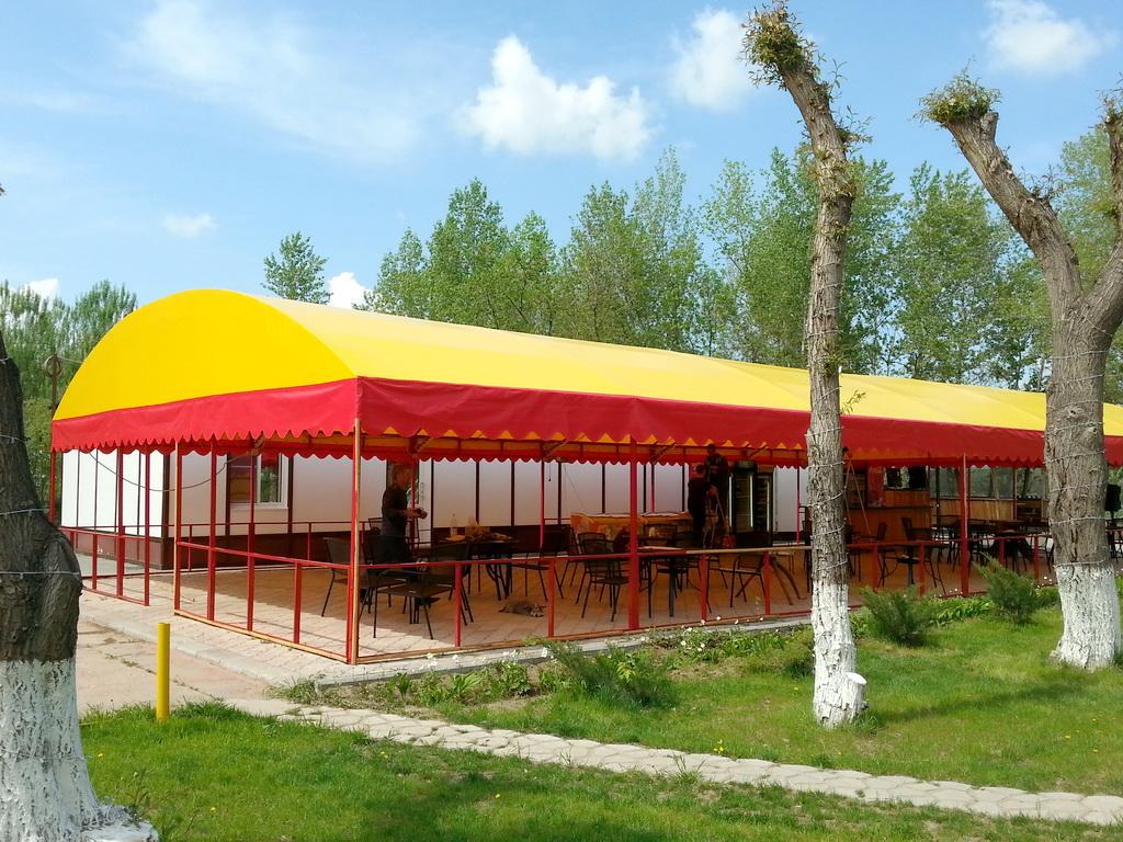 Тент-крыша для шатра