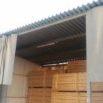 Промышленные шторы для склада
