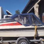 Ходовые тенты на лодки и катера