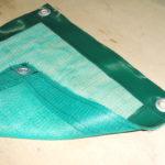 Антимоскитная штора с окантовкой из ткани-ПВХ