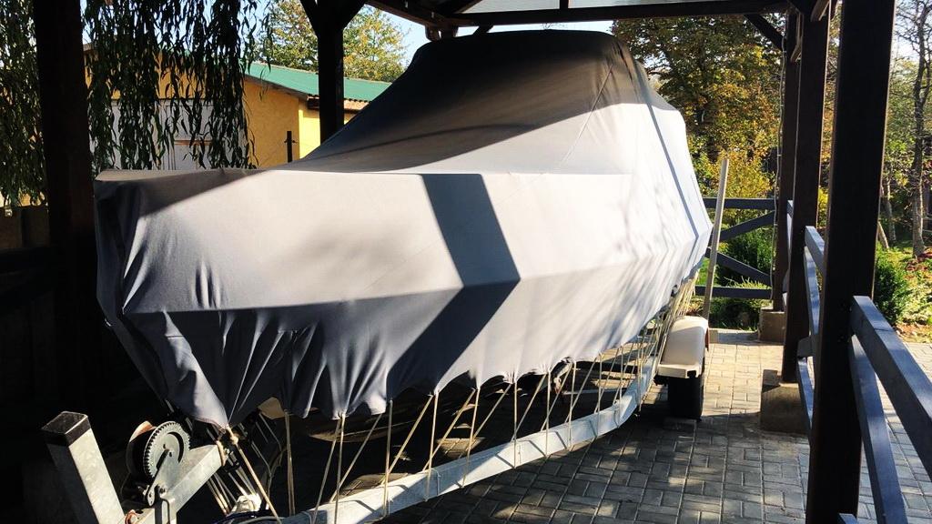 Транспортировочный тент на катер «Bayliner 192»