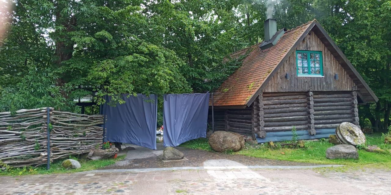 Уличные шторы из ткани «оксфорд»»